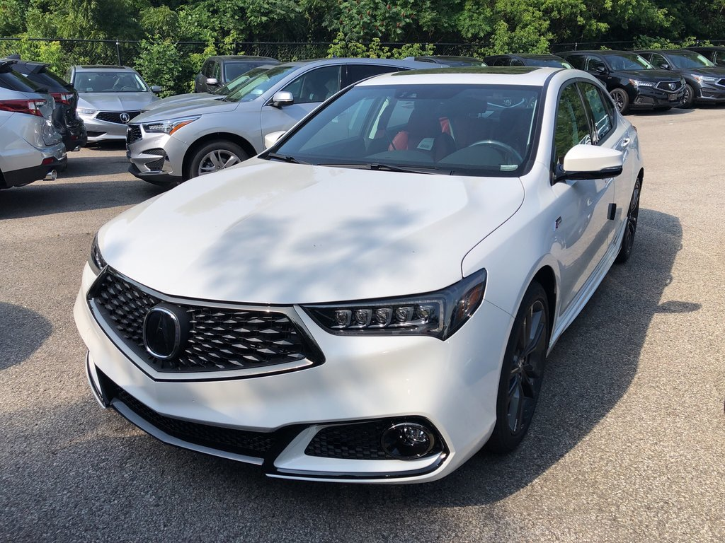 2020 Acura TLX 2.4L P-AWS w/Tech Pkg A-Spec Red in Markham, Ontario - 1 - w1024h768px