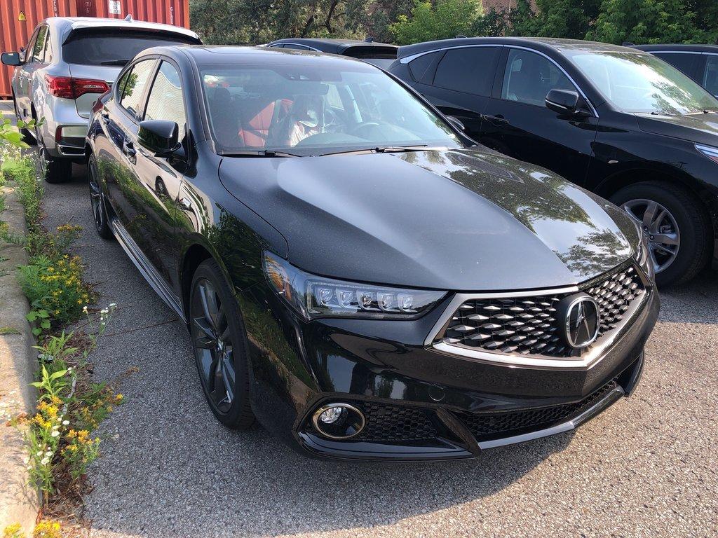 2020 Acura TLX 3.5L SH-AWD w/Tech Pkg A-Spec Red in Markham, Ontario - 3 - w1024h768px