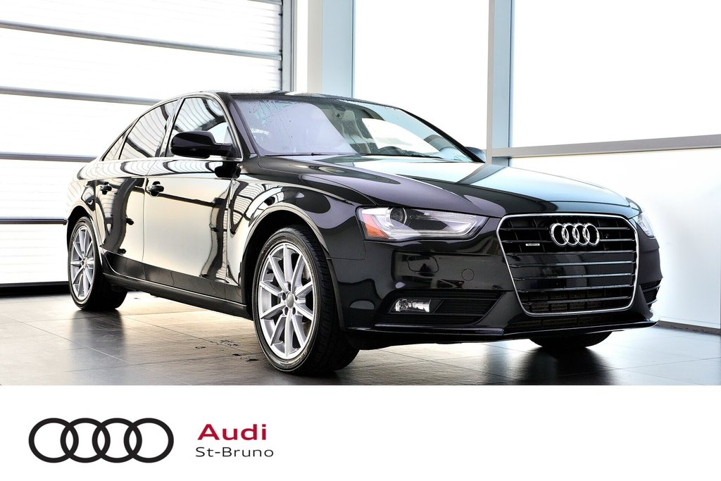 Audi A4 PROGRESSIV + CAMERA RECUL + GPS 2014 à St-Bruno, Québec - 1 - w1024h768px