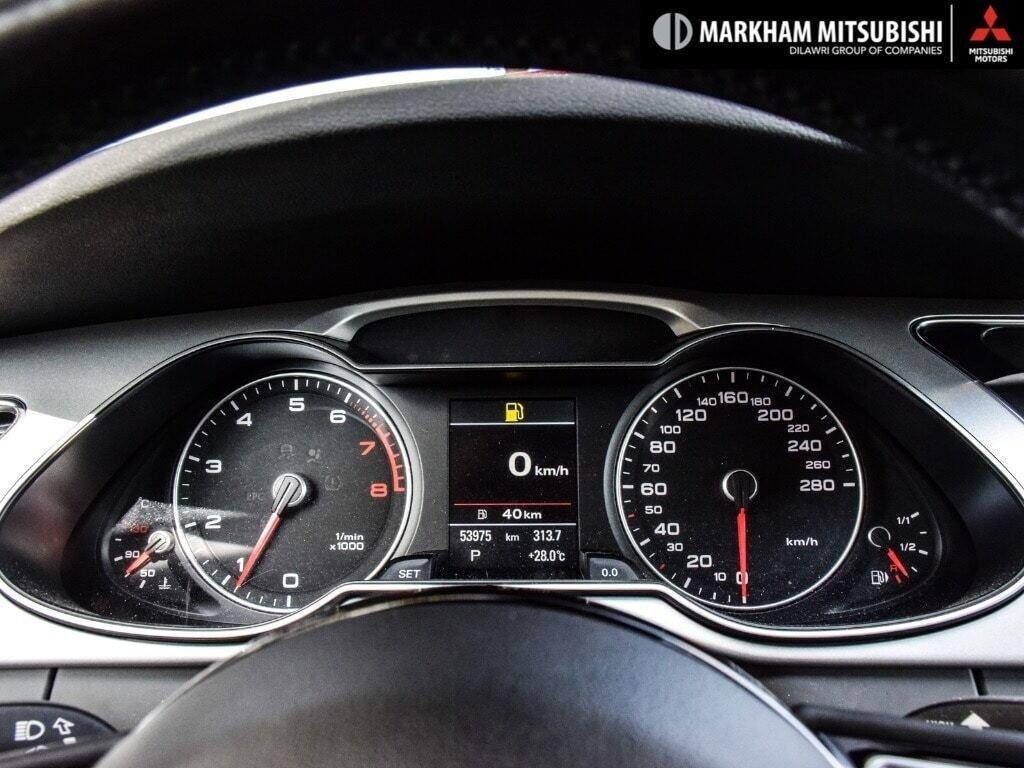 2015 Audi A4 2.0T Progressiv plus qtro 8sp Tip in Markham, Ontario - 14 - w1024h768px