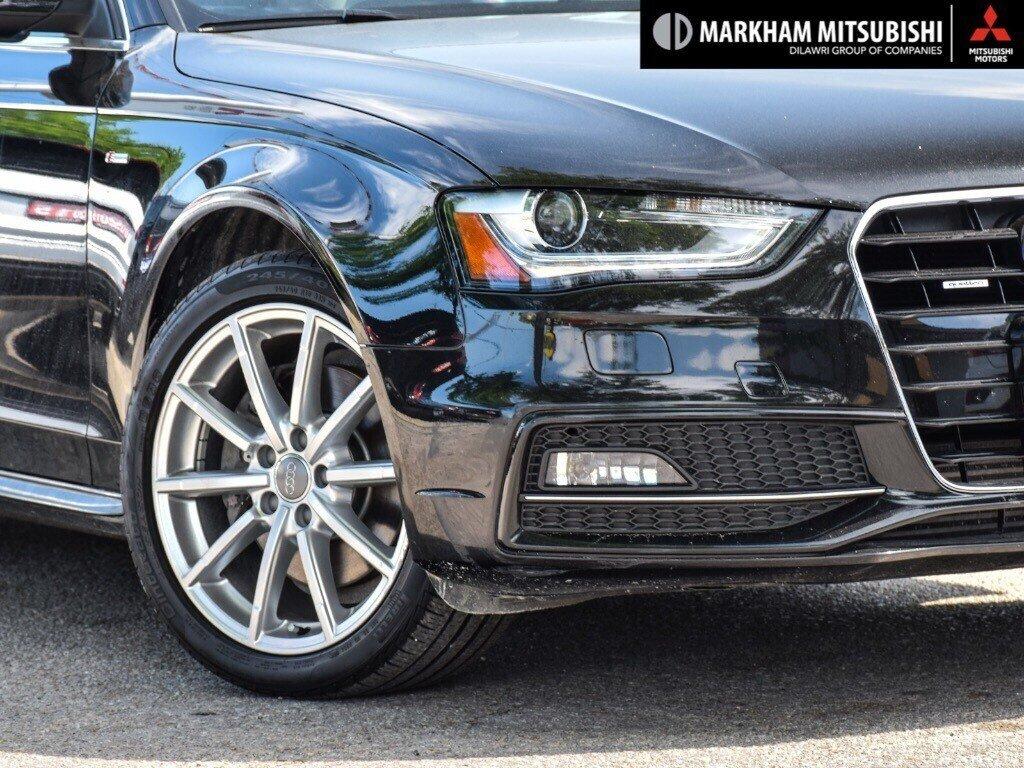 2015 Audi A4 2.0T Progressiv plus qtro 8sp Tip in Markham, Ontario - 7 - w1024h768px