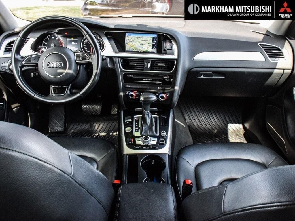 2015 Audi A4 2.0T Progressiv plus qtro 8sp Tip in Markham, Ontario - 12 - w1024h768px
