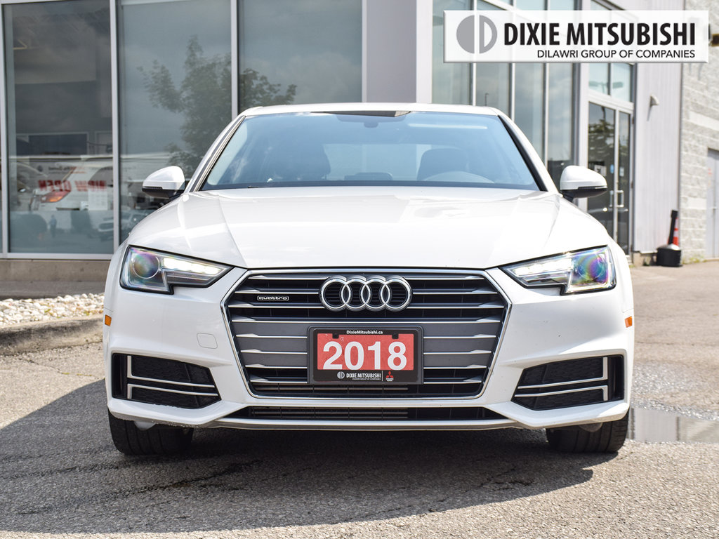 2018 Audi A4 2.0T Komfort quattro 7sp S tronic in Mississauga, Ontario - 2 - w1024h768px