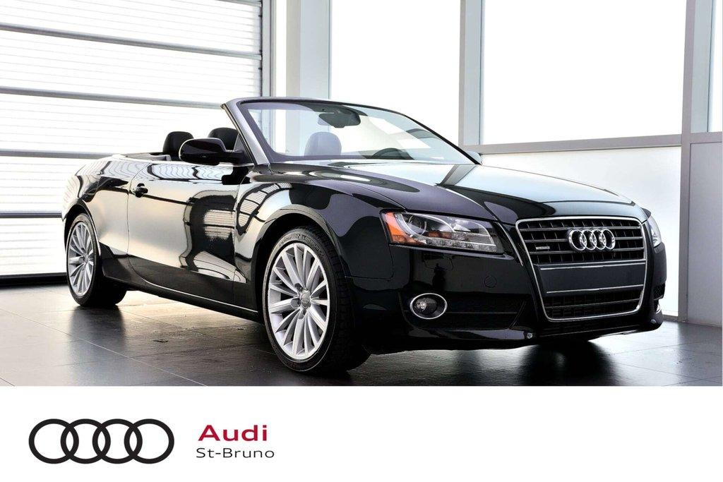 Audi A5 PREMIUM + CABRIOLET + BAS KILO 2012 à St-Bruno, Québec - 1 - w1024h768px