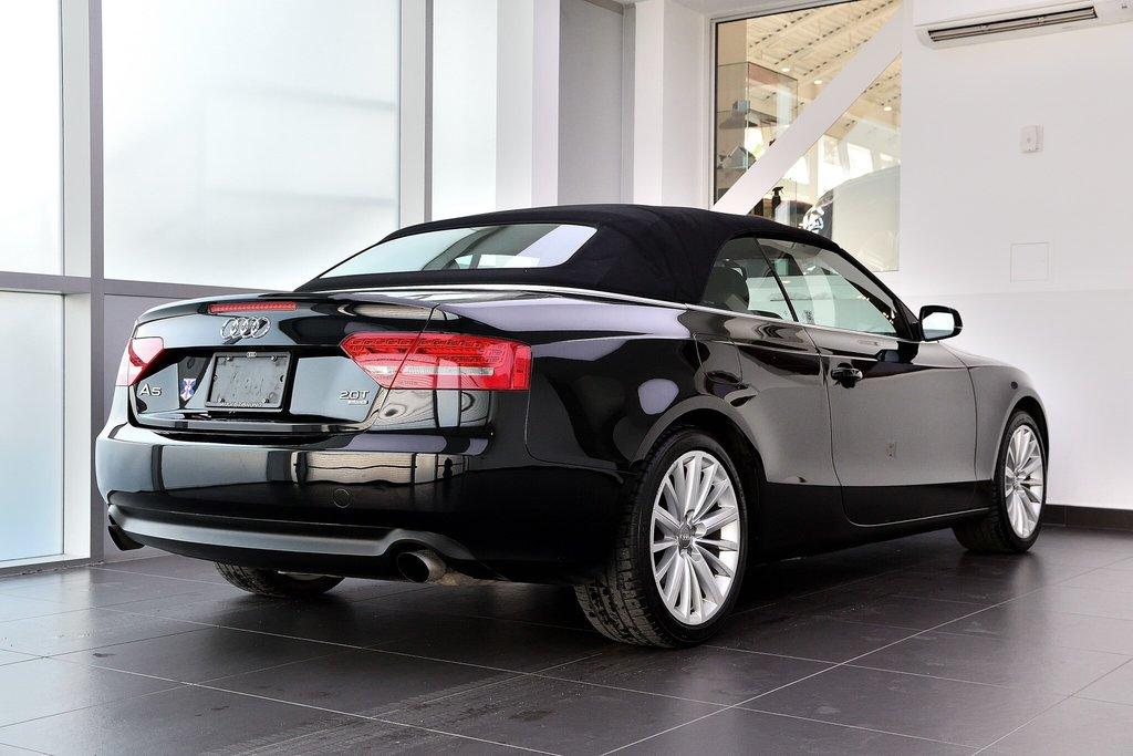 Audi A5 PREMIUM + CABRIOLET + BAS KILO 2012 à St-Bruno, Québec - 22 - w1024h768px