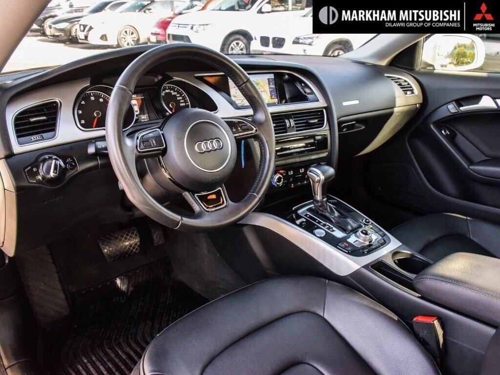 2016 Audi A5 2.0T Komfort quattro 8sp Tiptronic Cpe in Markham, Ontario - 10 - w1024h768px