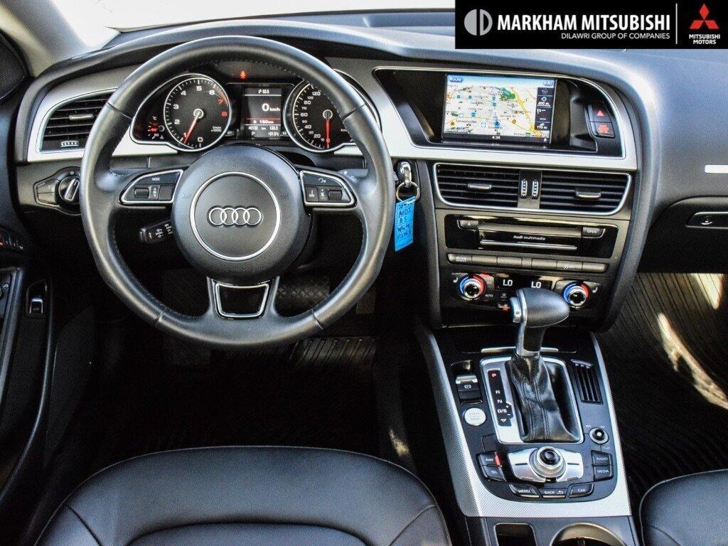 2016 Audi A5 2.0T Komfort quattro 8sp Tiptronic Cpe in Markham, Ontario - 12 - w1024h768px
