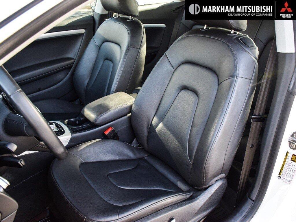 2016 Audi A5 2.0T Komfort quattro 8sp Tiptronic Cpe in Markham, Ontario - 9 - w1024h768px