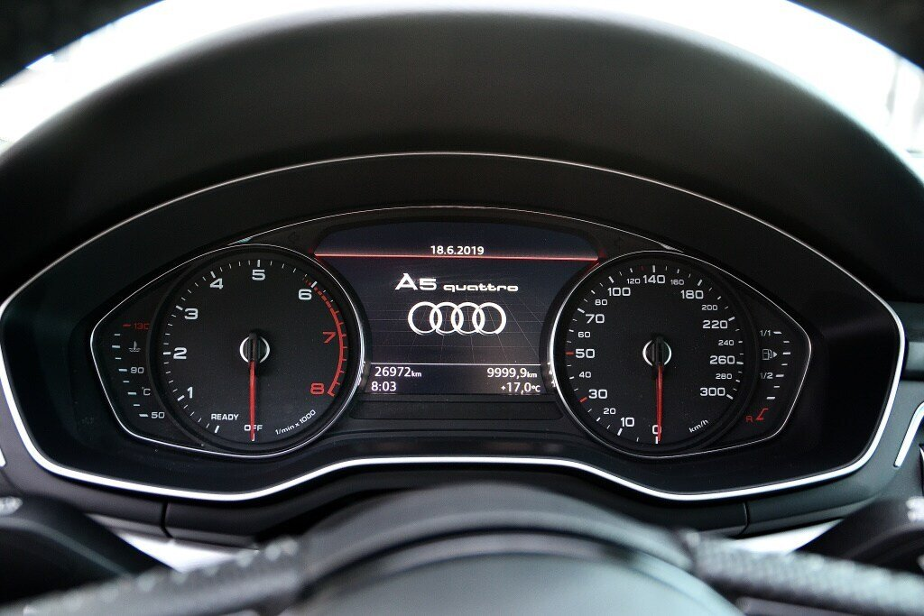 Audi A5 PROGRESSIV + LE MOINS CHÈRE + S-LINE 2018 à St-Bruno, Québec - 21 - w1024h768px