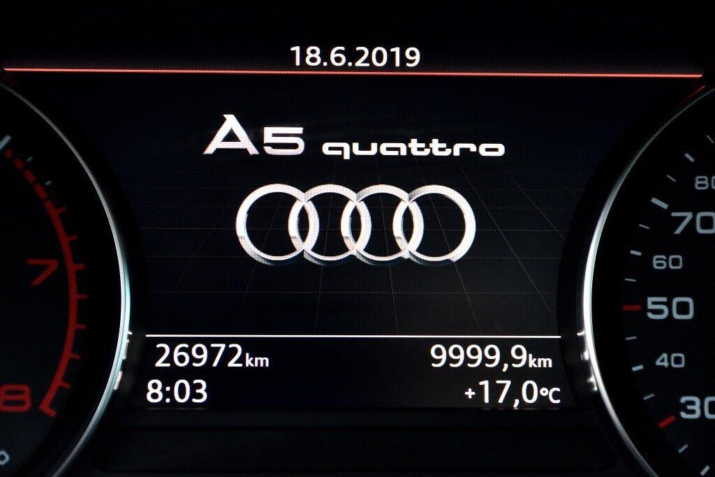 Audi A5 PROGRESSIV + LE MOINS CHÈRE + S-LINE 2018 à St-Bruno, Québec - 22 - w1024h768px