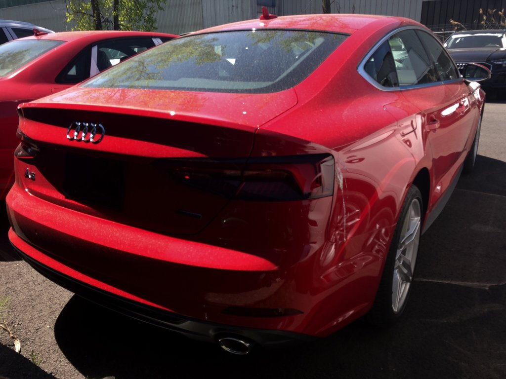 Audi A5 Sportback Progressiv 2019 à St-Bruno, Québec - 4 - w1024h768px