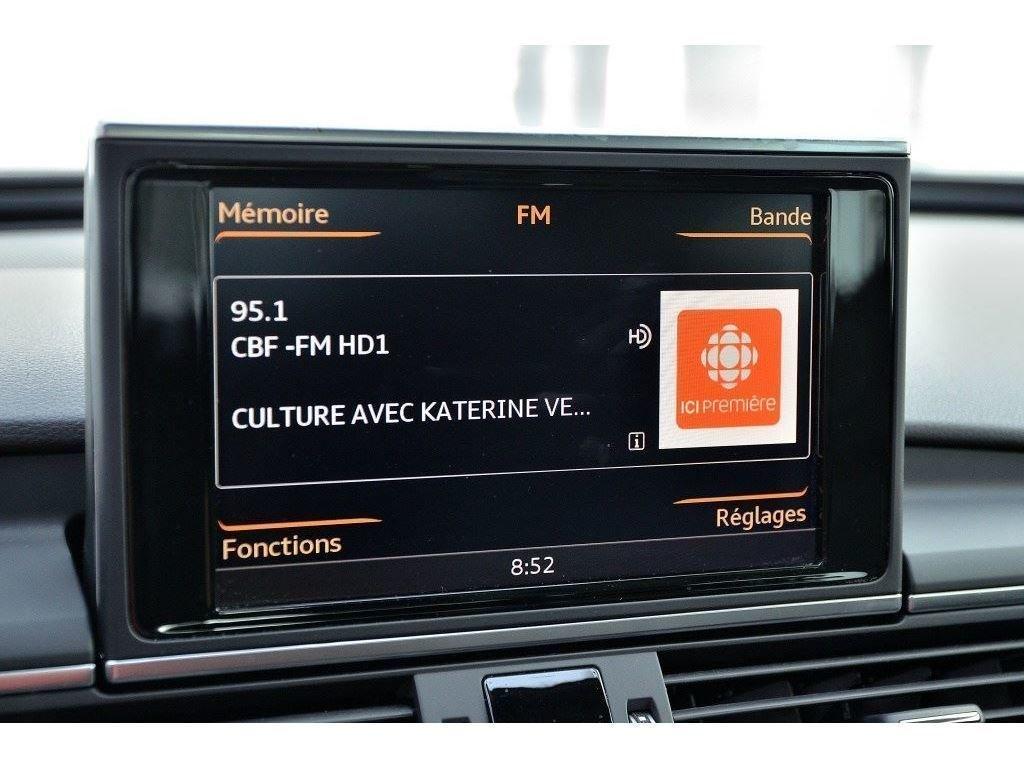 Audi A6 PROGRESSIV + DEMO + S-LINE 2017 à St-Bruno, Québec - 24 - w1024h768px