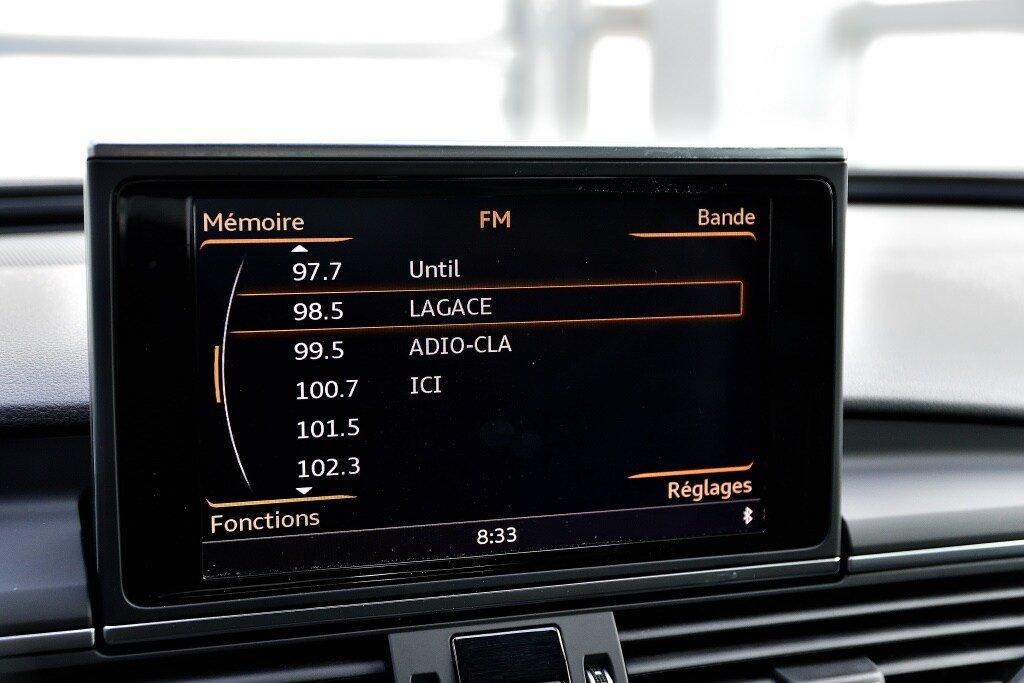 Audi A6 TECHNIK + PRIX FOU + S-LINE COMPETITION 2018 à St-Bruno, Québec - 25 - w1024h768px