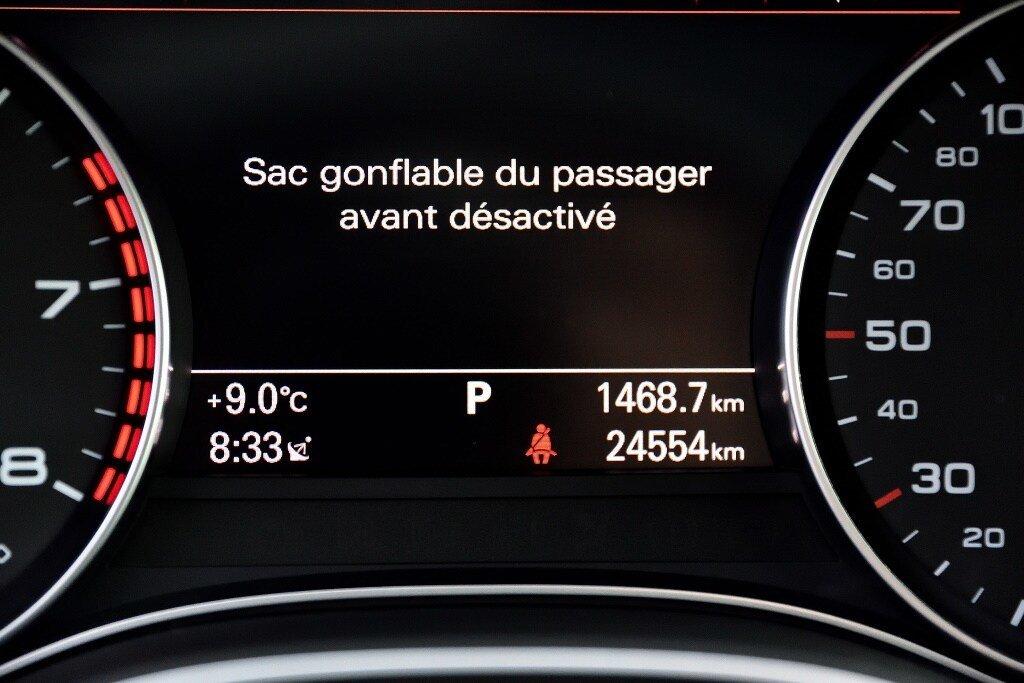 Audi A6 TECHNIK + PRIX FOU + S-LINE COMPETITION 2018 à St-Bruno, Québec - 23 - w1024h768px
