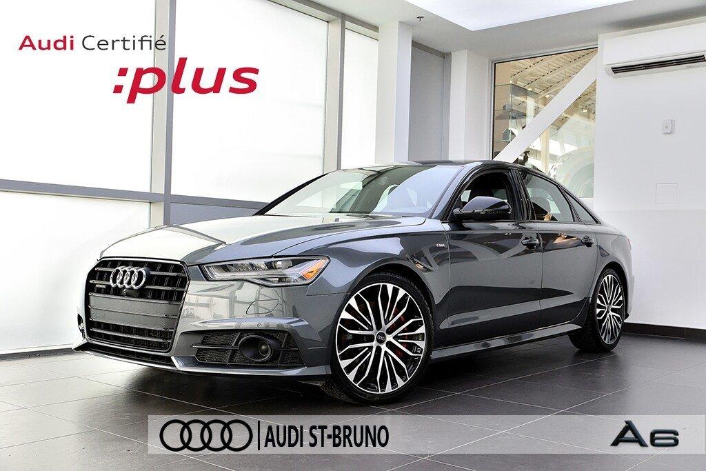 Audi A6 TECHNIK + PRIX FOU + S-LINE COMPETITION 2018 à St-Bruno, Québec - 1 - w1024h768px