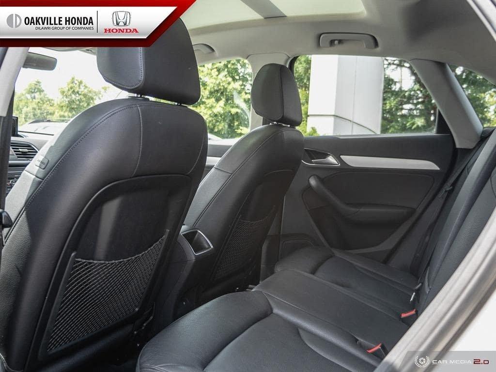 2017 Audi Q3 2.0T Komfort quattro 6sp Tiptronic in Oakville, Ontario - 23 - w1024h768px