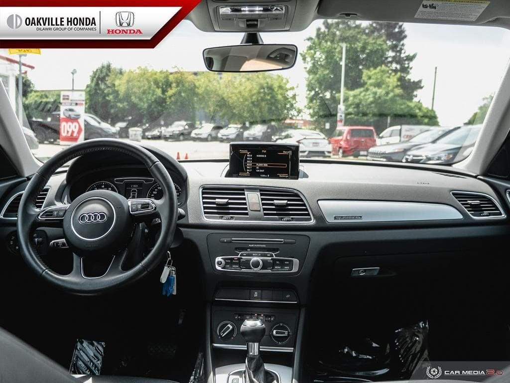2017 Audi Q3 2.0T Komfort quattro 6sp Tiptronic in Oakville, Ontario - 24 - w1024h768px