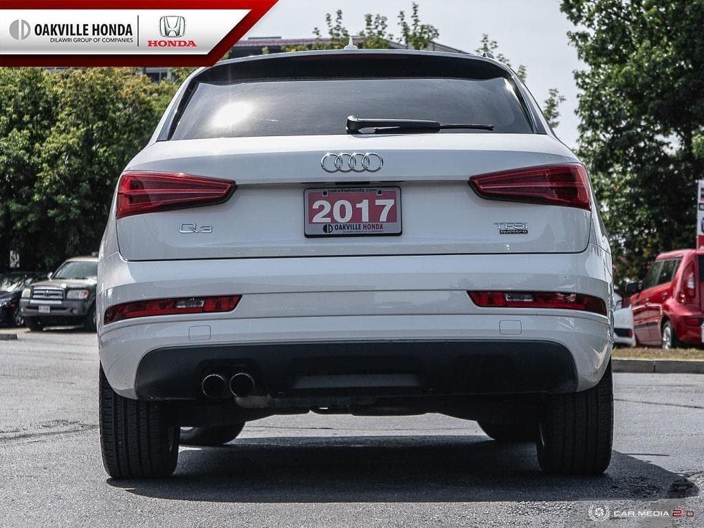 2017 Audi Q3 2.0T Komfort quattro 6sp Tiptronic in Oakville, Ontario - 5 - w1024h768px