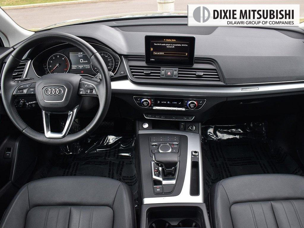 2019 Audi Q5 2.0T Komfort quattro 7sp S Tronic in Mississauga, Ontario - 11 - w1024h768px