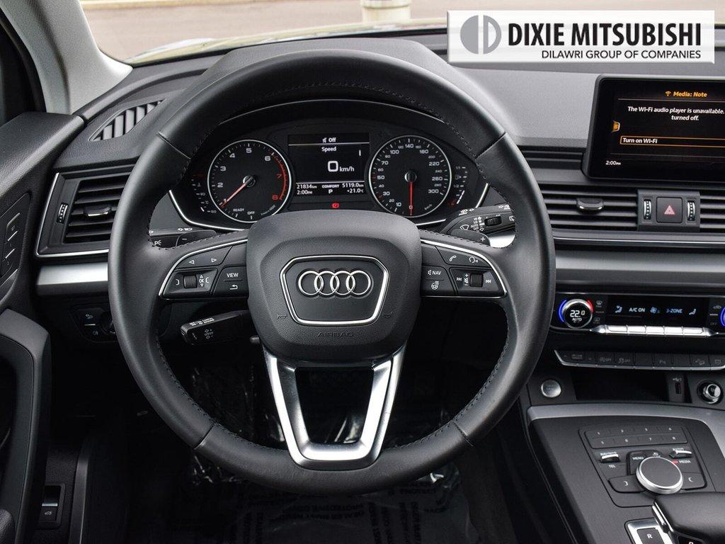 2019 Audi Q5 2.0T Komfort quattro 7sp S Tronic in Mississauga, Ontario - 12 - w1024h768px