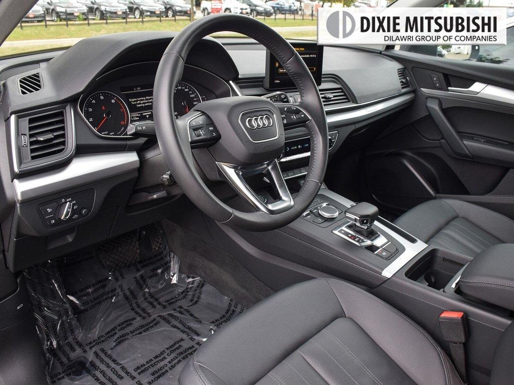 2019 Audi Q5 2.0T Komfort quattro 7sp S Tronic in Mississauga, Ontario - 10 - w1024h768px