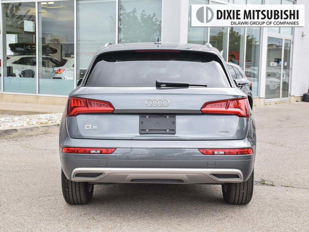 2019 Audi Q5 2.0T Komfort quattro 7sp S Tronic in Mississauga, Ontario - 4 - w1024h768px