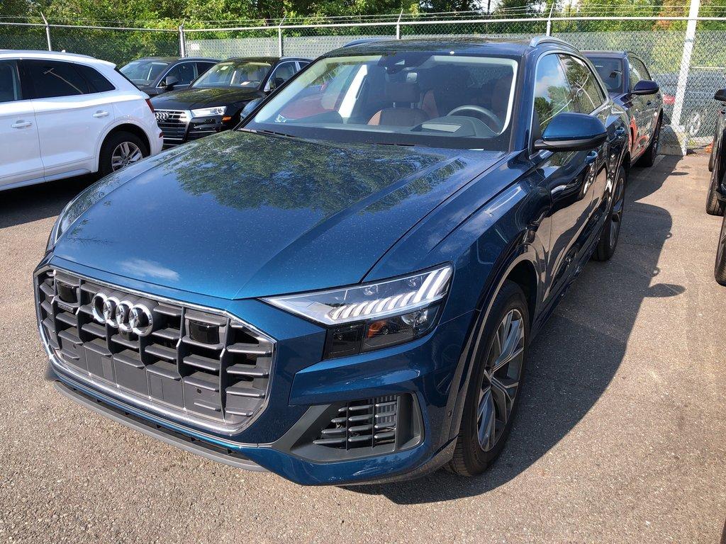 Audi Q8 Technik 2019 à St-Bruno, Québec - 1 - w1024h768px