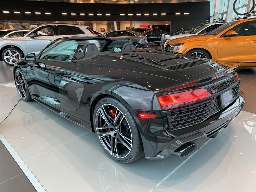 Audi Queensway | 2020 Audi R8 Spyder 5.2 V10 Performance ...