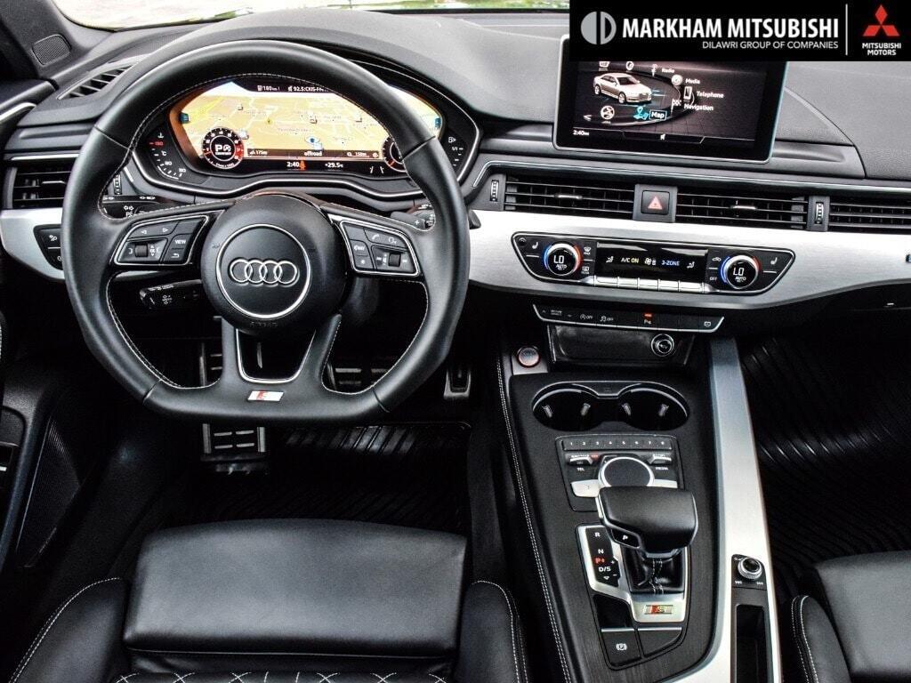 2018 Audi S4 3.0T Technik quattro 8sp Tiptronic (SOO) in Markham, Ontario - 12 - w1024h768px