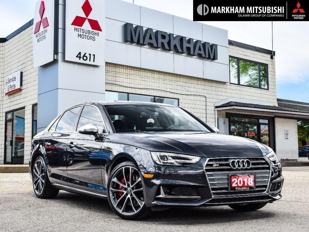 2018 Audi S4 3.0T Technik quattro 8sp Tiptronic (SOO) in Markham, Ontario - 1 - w1024h768px