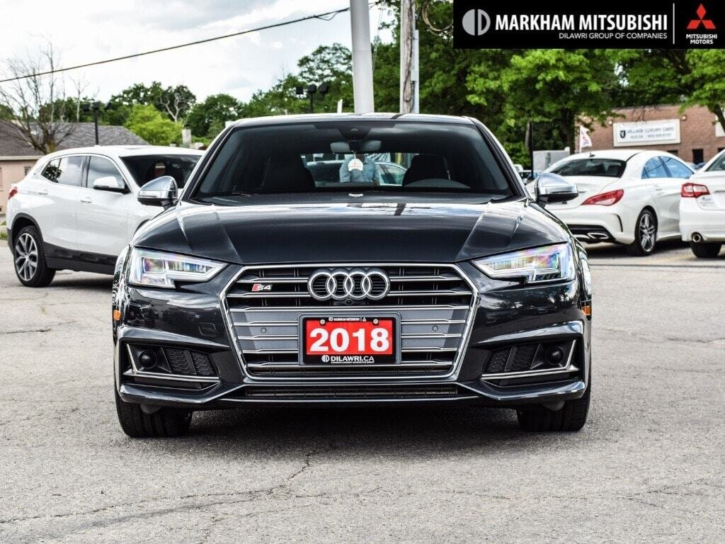 2018 Audi S4 3.0T Technik quattro 8sp Tiptronic (SOO) in Markham, Ontario - 2 - w1024h768px