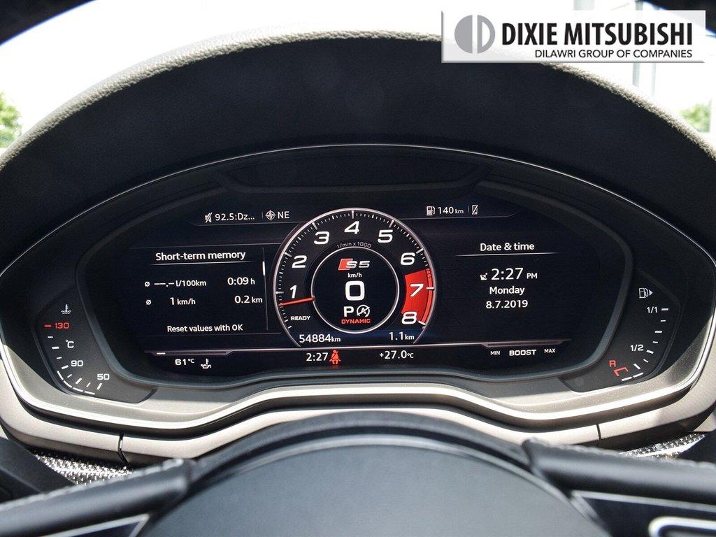 2018 Audi S5 3.0T Technik quattro 8sp Tiptronic Cpe in Mississauga, Ontario - 16 - w1024h768px