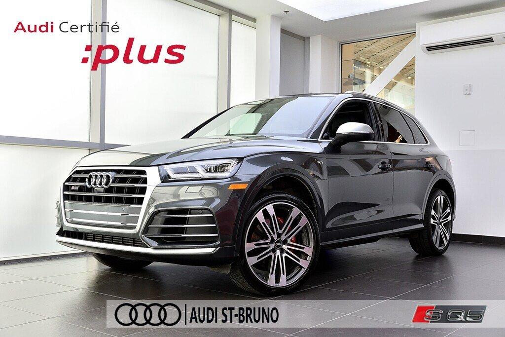 Audi SQ5 TECHNIK + LA PLACE POUR UN SQ5 2018 à St-Bruno, Québec - 1 - w1024h768px