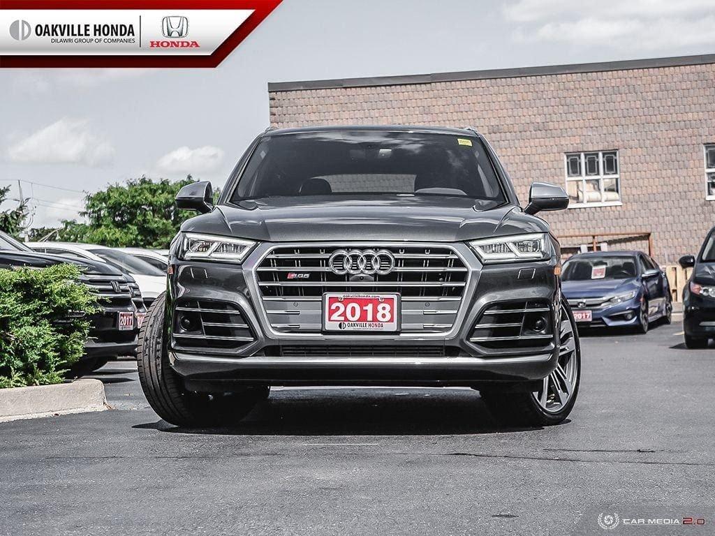2018 Audi SQ5 3.0T Technik quattro 8sp Tiptronic in Oakville, Ontario - 2 - w1024h768px