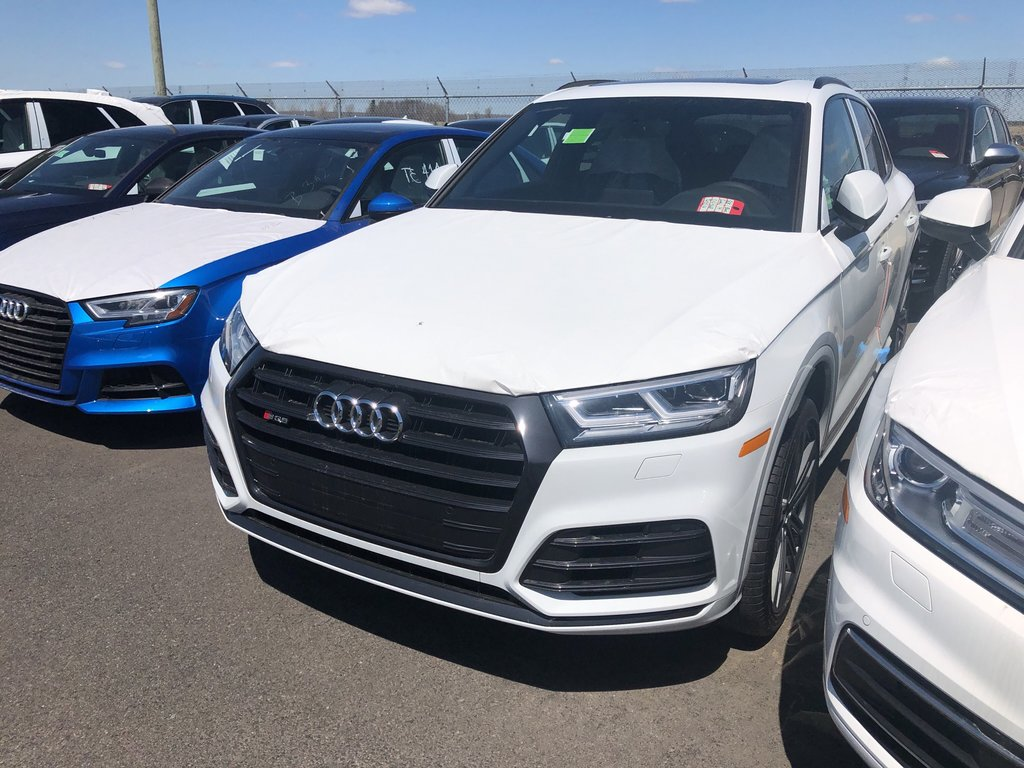 Audi SQ5 Progressiv 2019 à St-Bruno, Québec - 1 - w1024h768px