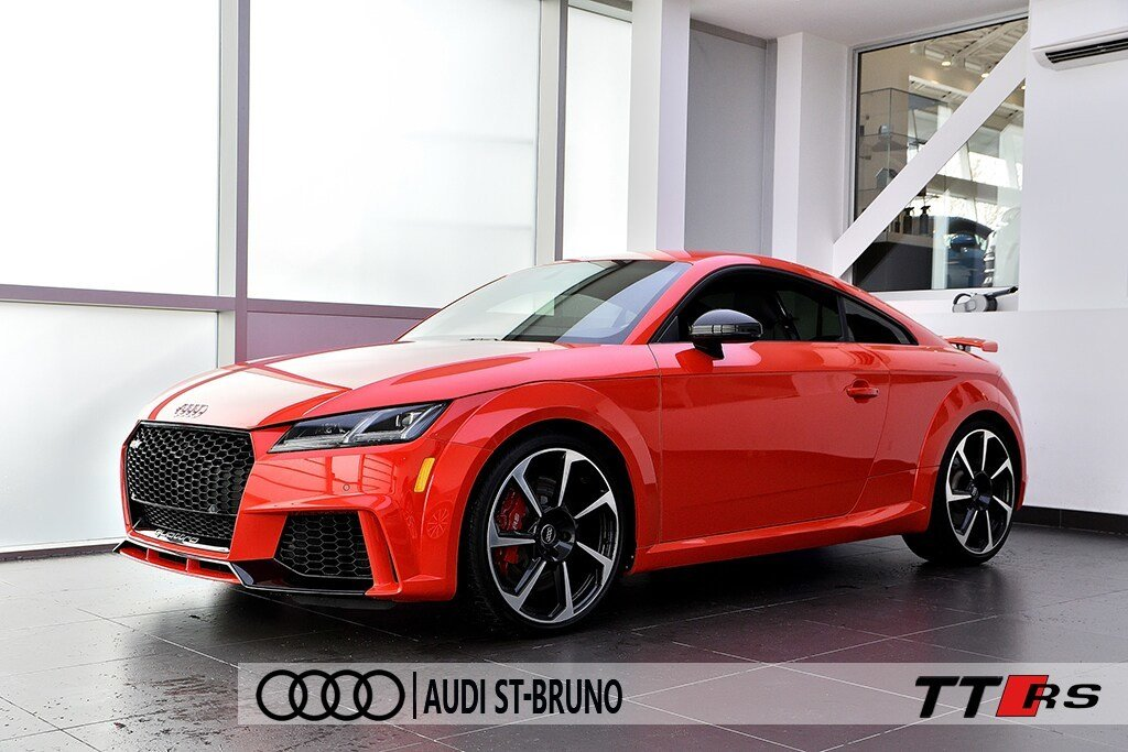 Audi TT RS BLACK OPTICS + 7 390$ D'OPTIONS + OLED + B&O 2018 à St-Bruno, Québec - 5 - w1024h768px