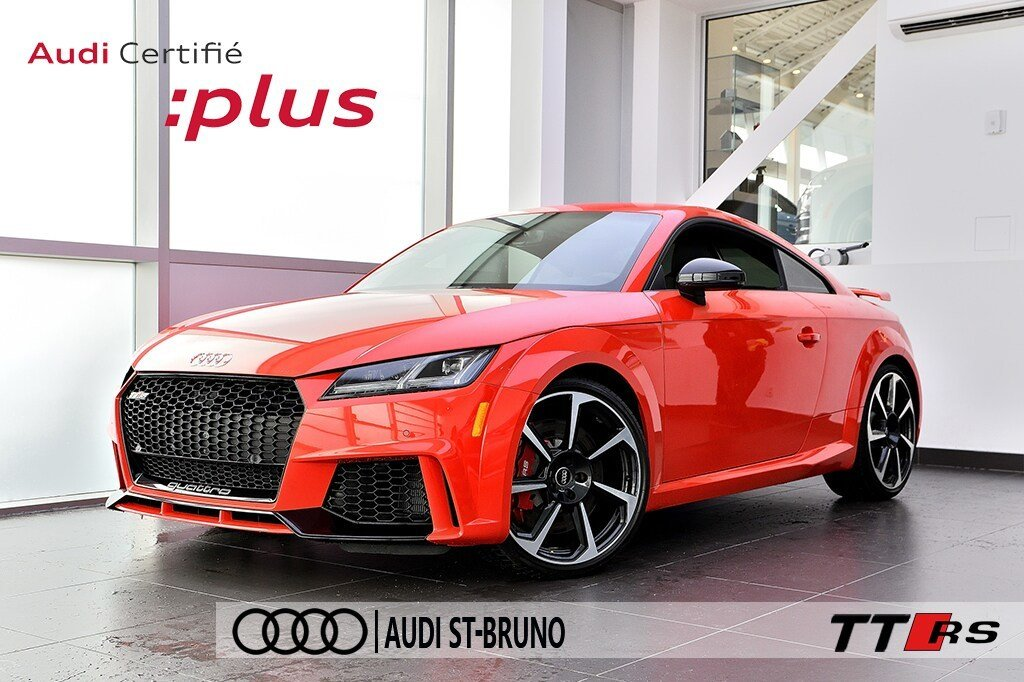 Audi TT RS BLACK OPTICS + 7 390$ D'OPTIONS + OLED + B&O 2018 à St-Bruno, Québec - 1 - w1024h768px