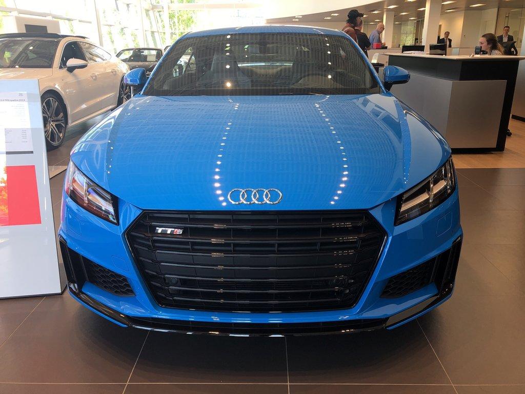 Audi TTS COUPÉ  2019 à St-Bruno, Québec - 2 - w1024h768px