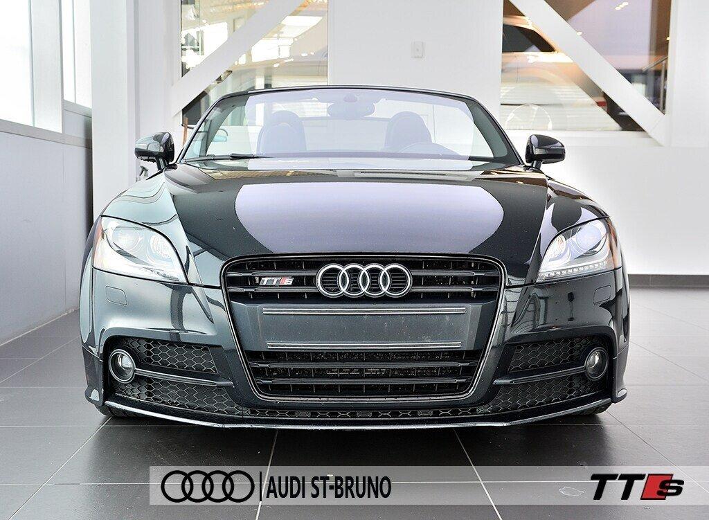 Audi TTS ROADSTER + BLACK OPTICS + RARE 2014 à St-Bruno, Québec - 4 - w1024h768px