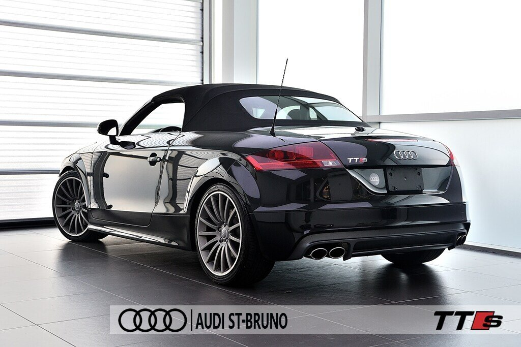 Audi TTS ROADSTER + BLACK OPTICS + RARE 2014 à St-Bruno, Québec - 23 - w1024h768px