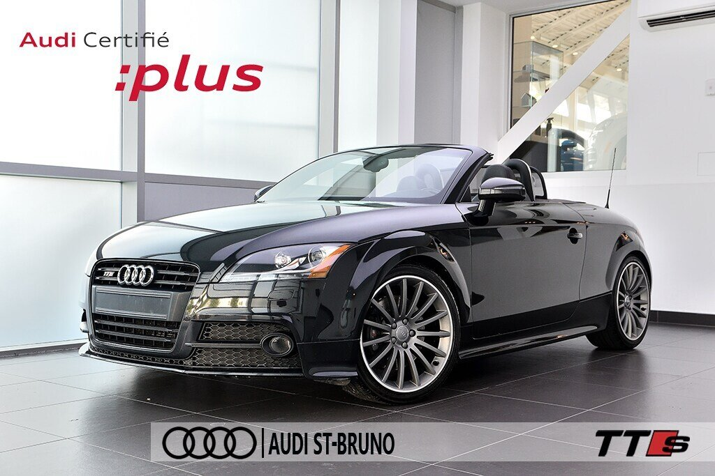 Audi TTS ROADSTER + BLACK OPTICS + RARE 2014 à St-Bruno, Québec - 1 - w1024h768px