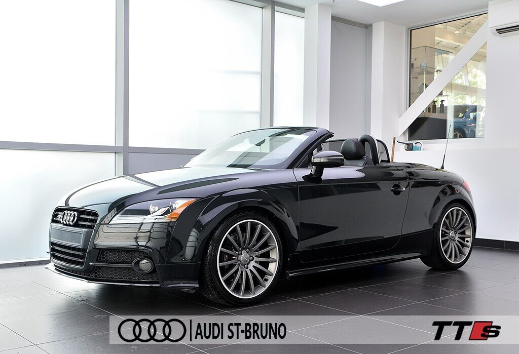 Audi TTS ROADSTER + BLACK OPTICS + RARE 2014 à St-Bruno, Québec - 5 - w1024h768px