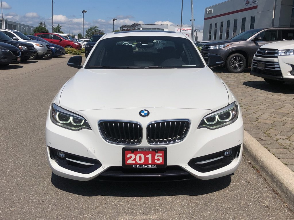 2015 BMW 228i XDrive Coupe in Bolton, Ontario - 3 - w1024h768px
