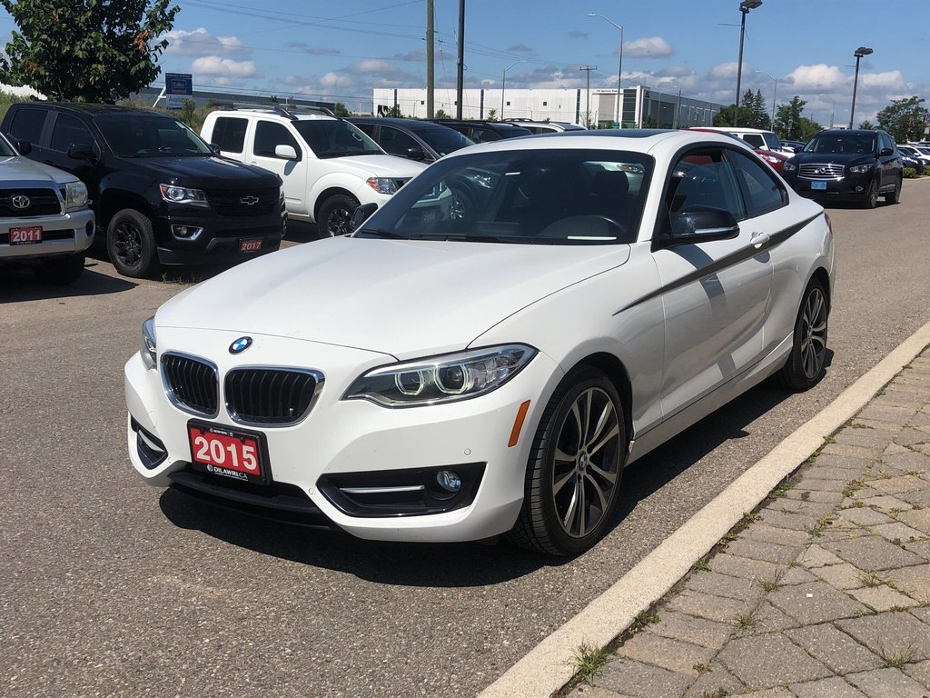 2015 BMW 228i XDrive Coupe in Bolton, Ontario - 2 - w1024h768px