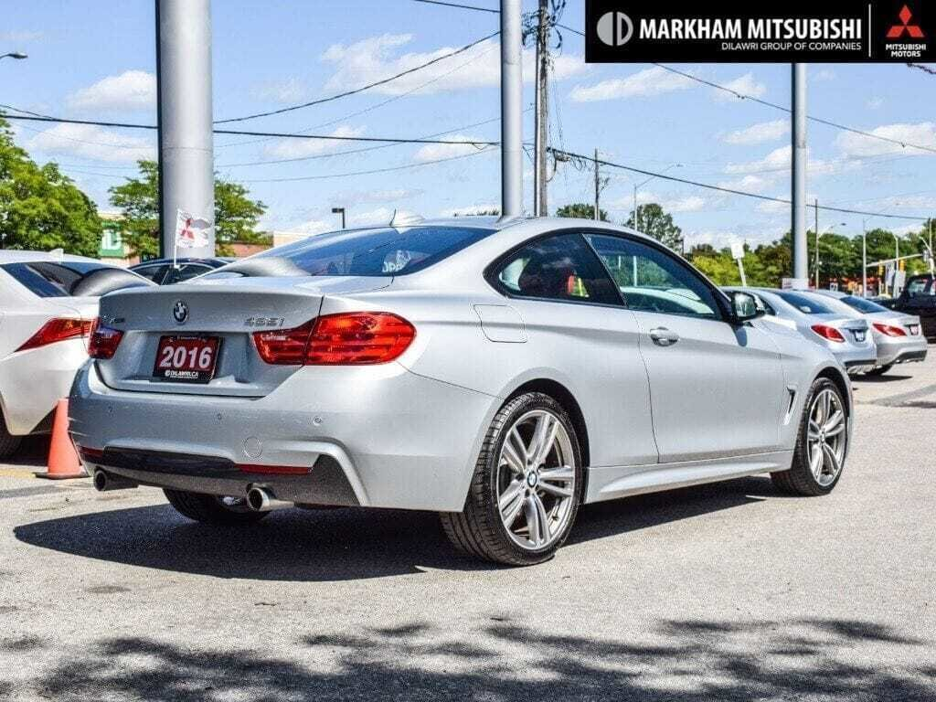 2016 BMW 435i XDrive Coupe in Markham, Ontario - 4 - w1024h768px