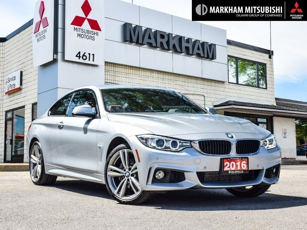 2016 BMW 435i XDrive Coupe in Markham, Ontario - 1 - w1024h768px