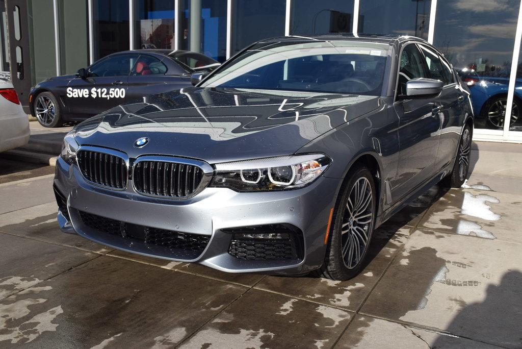 Calgary BMW | 2019 BMW 5 Series 530i xDrive | #N22776DE