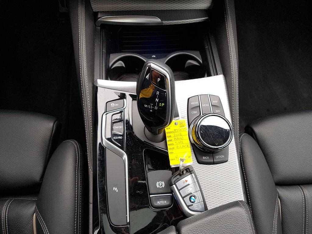 2018 BMW 530I XDrive Sedan in Regina, Saskatchewan - 12 - w1024h768px