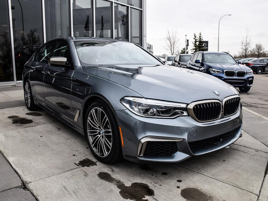 Calgary BMW   2019 BMW 5 Series M550i xDrive   #N23130