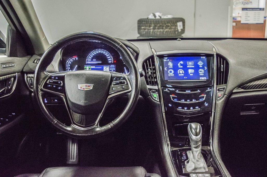 2017 Cadillac ATS 2.0L Turbo Luxury SPORT ** GPS ** CAMERA ** in Dollard-des-Ormeaux, Quebec - 12 - w1024h768px